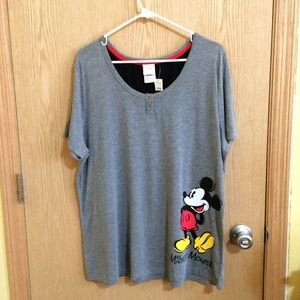 Mickey Mouse Pajama Shirt